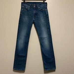 Men's Levi's 513 slim straight leg denim jeans
